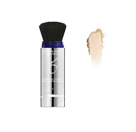 ZO Sunscreen + Powder SPF 30 -puuterilla on helppo lisäillä suojaa kasvoille pitkin päivää. Mukana on sekä UVA- että UVB- että sinisen valon suoja. 91,90 €.