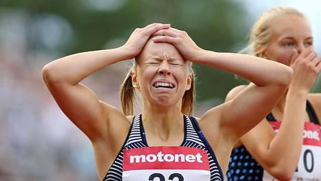 Aino Pulkkinen ja Markus Teijula juoksivat ensimmäiset mestaruutensa 400 metrillä