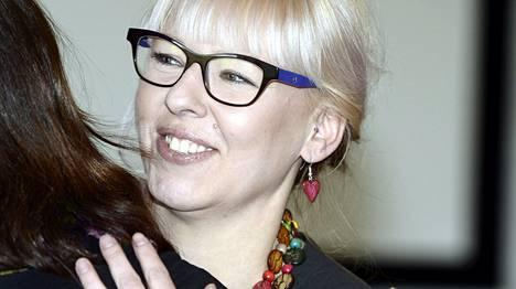 Aino-Kaisa Pekonen on vasemmistoliiton eduskuntaryhmän puheenjohtaja.