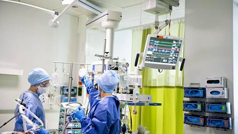 Vappupäivänä Suomessa on koronaviruksen takia tehohoidossa yhteensä 49 ihmistä.