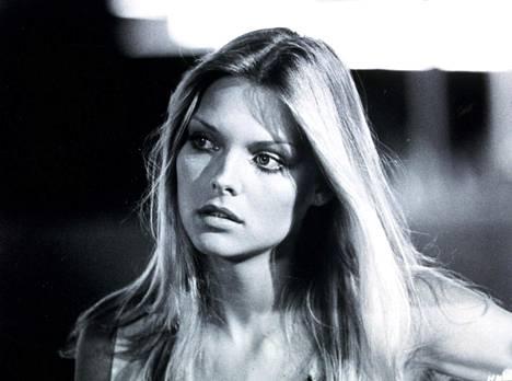 Michelle Pfeiffer 22-vuotiaana vuonna 1980.