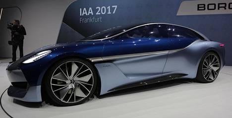 Saksalaisen valmistajan konsepti: Borgward Isabella.