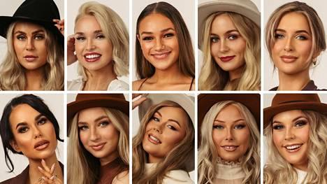 He ovat vuoden 2022 Miss Helsinki -finalistit.