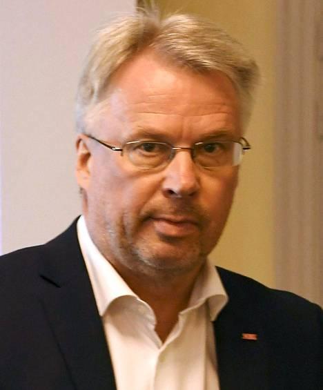 SAK:n yhteyspäällikkö Harri Järvinen.