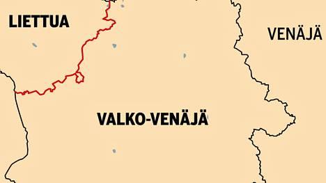 Liettuan ja Valko-Venäjän raja on liki 680 kilometriä pitkä, mutkainen, paikoin hyvin huonosti merkitty ja vailla fyysisiä esteitä