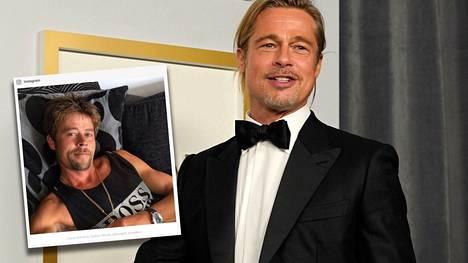 Brad Pittin kaksoisolento Nathan Meads tekee imitaattorikeikkoja esittäen Pittiä.