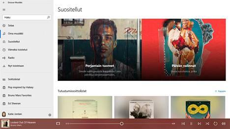 Groove Musiikki oli Microsoftin yritys kilpailla Spotifyn ja muiden musiikinsuoratoistopalvelujen kanssa.