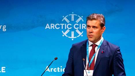 Islannin entinen pääministeri Bjarni Benediktsson, jonka hallitus kaatui syyskuussa.