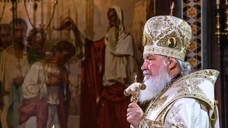 Venäjän ortodoksikirkon patriarkka Kirill.