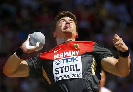 David Storl on voittanut kaksi viimeistä maailmanmestaruutta.