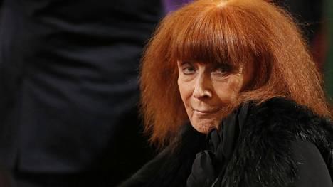 Sonia Rykiel kuoli 86 vuoden iässä.