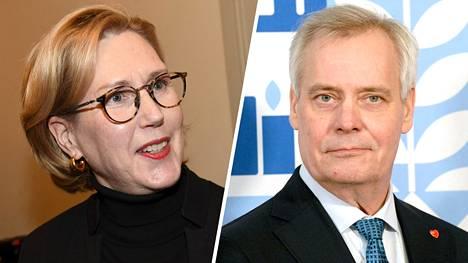 IS:n tietojen mukaan Antti Rinnettä ollaan nyt istuttamassa eduskunnan varapuhemieheksi Tuula Haataisen paikalle.