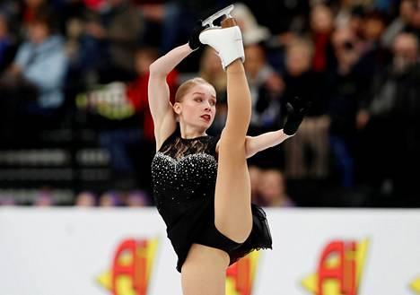 Viveca Lindfors oli EM-kisojen kolmas 2019.