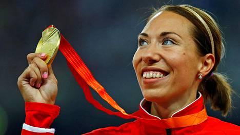 800 metrin maailmanmestari Marina Arzamasava on jäänyt kiinni dopingista.