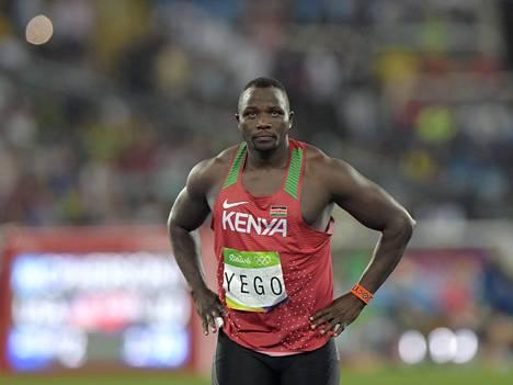 Julius Yego heitti olympiahopeaa.