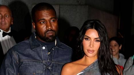 Kanye West ja Kim Kardashian kuvattuna yhdessä lokakuussa 2019. Kanye on nyt löytänyt uuden rakkaan.