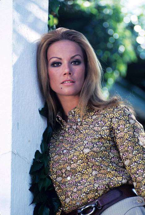 Tältä Claudine Auger näytti vuonna 1968...