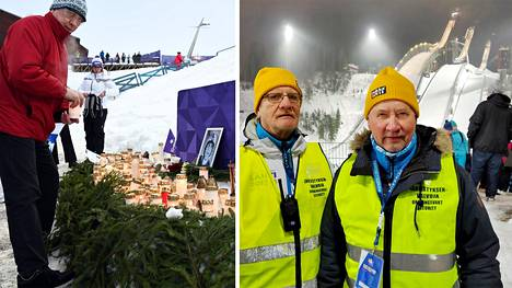 Lahden maailmancupin kilpailuun saapuneet muistelivat Matti Nykästä.