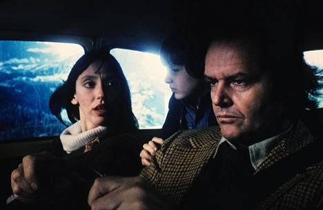 Shelley Duvallin ja Jack Nicholsonin kanssa elokuvan pääosassa nähtiin tuolloin kuusivuotias Danny Lloyd.