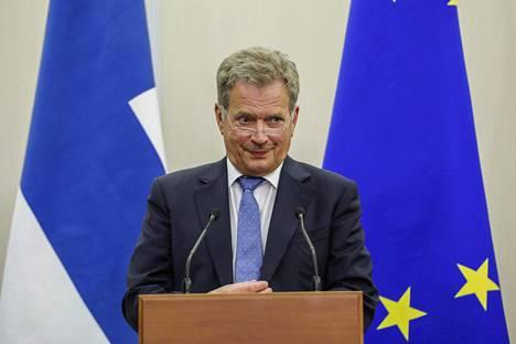 Sauli Niinistö sai Vladimir Putinilta kannatusta hankkeelle Arktisen neuvoston huippukokouksesta.