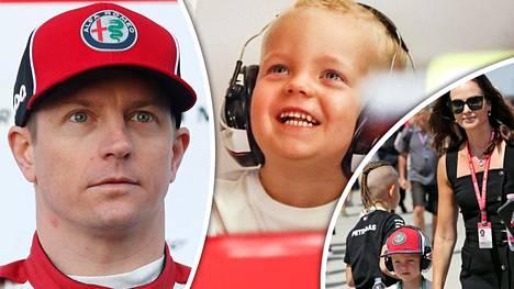 Robin Räikkönen on innokas automiehen alku, joka on jo ajanut kartingautolla.
