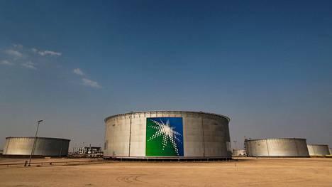 Aramcon öljytankkeja Saudi-Arabiassa lokakuussa 2019.