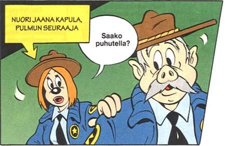 Jaana Kapula on ensimmäinen Suomessa kehitetty hahmo Aku Ankassa.