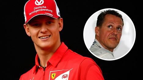 Mick Schumacher seuraa isänsä Michaelin jalanjäljissä F1-sarjaan.