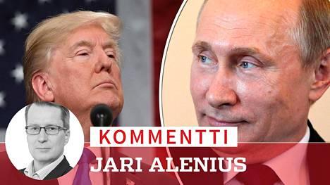 Trump piti vuotuisen Kansakunnan tila -puheensa tiistaina. Putin nauratti venäläisiä vitsailemalla Yhdysvaltain hallinnon samaan aikaan julkaisemasta venäläisten oligarkkien listasta.