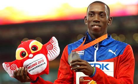 Pekingin MM-kisoissa Pedro Pablo Pichardo edusti vielä Kuubaa.