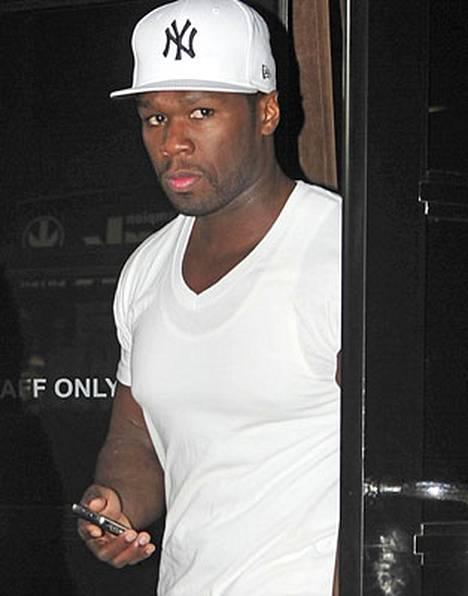 50 Cent peruu nyt puheitaan.