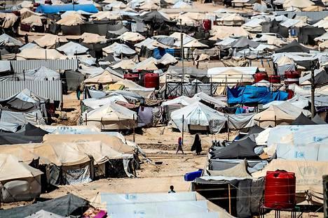 Al-Holin leirin olot ovat huonot.