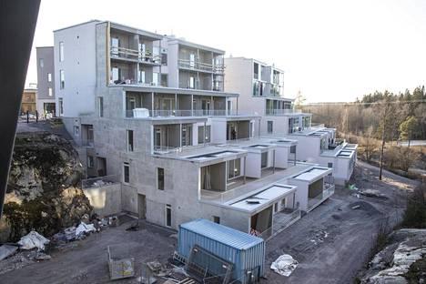Viikinmäen kerrostalon rakennustyöt ovat loppusuoralla.