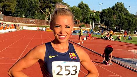 Annimari Korte juoksi viime kesänä 100 metrin aidoissa kauden kotimaista kärkitulosta sivuavan ajan 13,25. Tulos merkittiin kuitenkin tuulitulokseksi.