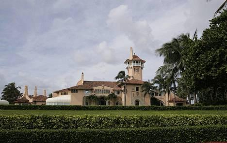 Palm Beachin luksuskartanossa on enemmän tilaa kuin Valkoisessa talossa.