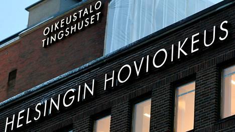 Tapausta puitiin Helsingin hovioikeudessa.