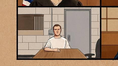 Derek Chauvin oli oikeuden edessä videoyhteyden välityksellä vankilasta.