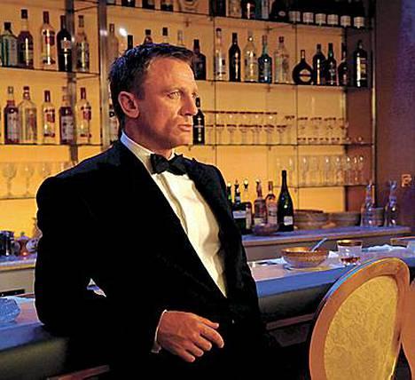 James Bondina tunnettu Daniel Craig äänestettiin kolmanneksi seksikkäimmäksi.