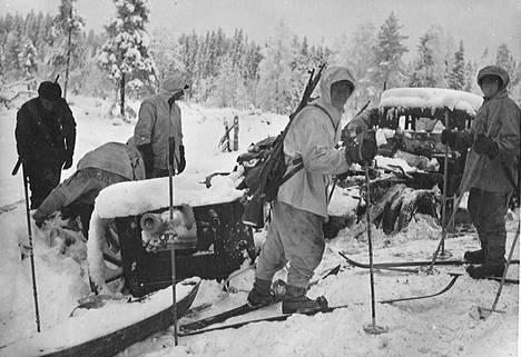 Suomalaiset tutkivat sotasaalista.