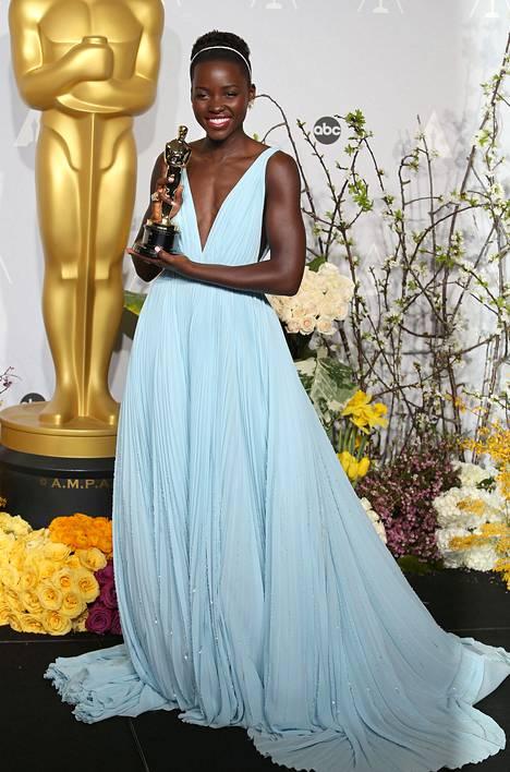 Lupita Nyong'o hurmasi 2014.
