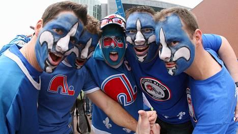 Quebec on kiekkohullu kaupunki ilman ammattilaisseuraa. Kuva vuodelta 2011.