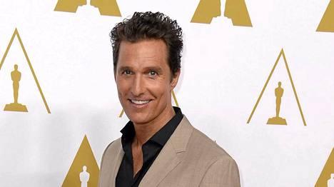 Matthew McConaughey onkin kotioloissa aivan tavallinen jässikkä.