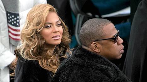 Beyonce järjesti pirskeet porukalleen.