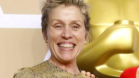 Frances McDormandin Oscar-patsas oli päätyä varkaan matkaan.