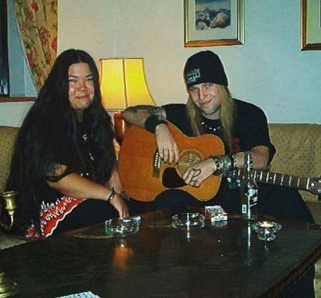 Alexi Laiho and Kimberly Goss never got a divorce.
