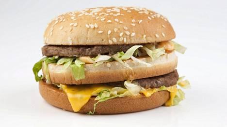 Big Mac -hampurilainen kehitettiin vuonna 1967.
