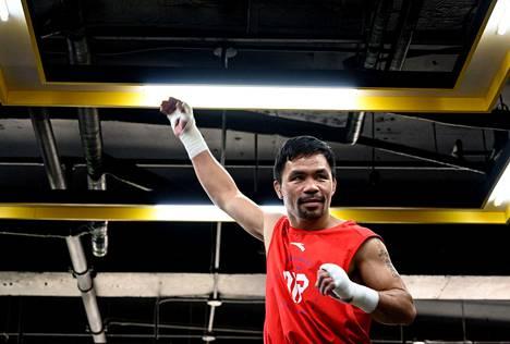 Manny Pacquiao on filippiiniläisen nyrkkeilyn ikoni.