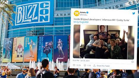 """BlizzCon-tapahtuma on vuosittain kerännyt yhteen kymmeniätuhansia Blizzard-pelien faneja. Kotaku paljasti tällä viikolla Blizzard-kehittäjillä olleen tapahtumassa """"Bill Cosby -sviitti"""" vuonna 2013."""