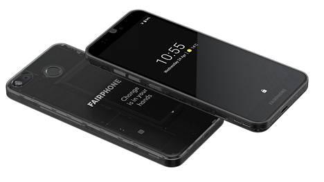 Fairphone 3 kuuluu varustelultaan Android-puhelimien keskisarjaan.