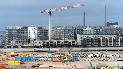 Rakennusalan odotukset ovat yhä korkealla tasolla, mutta hiipuneet toimialoista eniten.